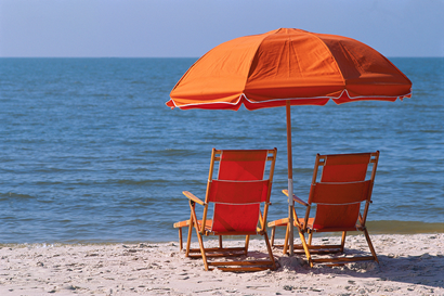 olio solare naturale, spiaggia, sole, mare